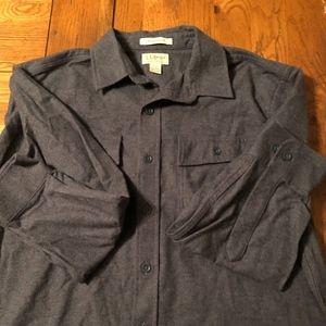 LLBEAN Chamois shirt